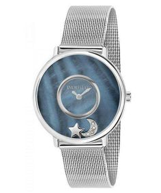Features:  Stainless Steel Case Stainless Steel Mesh Bracelet Quartz Movement Caliber: VJ20 Mineral Crystal Mother Of Pearl Dial Analog Display Diamond Accents Solid Case Back Deployment Clasp 50M Water Resistance  Approximate Case Diameter: 34mm Approximate Case Thickness: 8.5mm Mesh Bracelet, Bracelets, Stainless Steel Mesh, Krystal, Quartz, Watches, Pearls, Accessories, Women