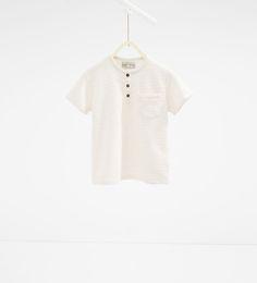 Bild 1 av T-shirt med udda ränder från Zara Boys Summer Outfits, Summer Clothes, Zara United States, Kind Mode, Boy Fashion, What To Wear, Barn, Stripes, Mens Tops