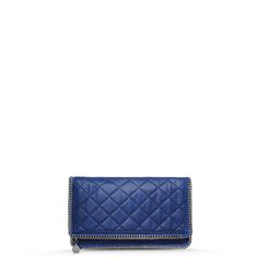 Stella McCartney, Falabella Quilted Shaggy Deer Fold Over Clutch - £550