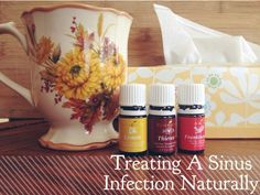Fighting a sinus infection naturally #oilyfamilies #youngliving