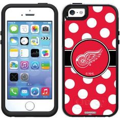 iPhone 5SE/5s OtterBox Symmetry Series NHL Case, Red
