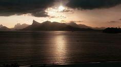 Vista do Rio de Janeiro,tirada de Icaraí/Niterói, dia 08-11-2016