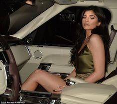 Kylie Jenner and Tyga step out in his 'n hers ensembles for dinner date | Daily Mail Online