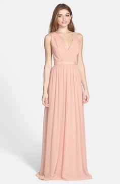 ERIN erin fetherston 'Sandrine' Embellished Chiffon Gown