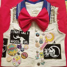 Sailor Moon themed vest