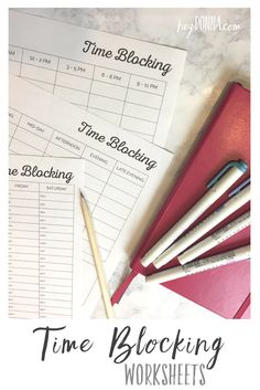 Time Blocking Calendar - Free Updated Worksheets -Get more things done and more organized! Planner Pages, Printable Planner, Free Printables, Daily Schedule Printable, 2015 Planner, Time Planner, Planner Tips, Happy Planner, Time Management Printable