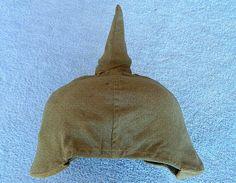 WW1 German Prussian M.1895 Pickelhaube Helmet & Cloth Cover.