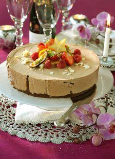 Recept chokladmoussetårta Gelatin, Mousse, Cheesecake, Sweet, Desserts, Food, Candy, Tailgate Desserts, Jello