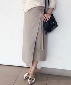 ラップミモレスカート(スカート) GALLARDAGALANTE(ガリャルダガランテ)のファッション通販 - ZOZOTOWN