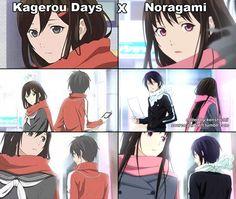 #OKAYYYYY #Noragami #Kagerou Days #Yato #Hiyori #Random[ish]