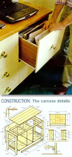File Cabinet - Furniture Plans and Projects | http://WoodArchivist.com