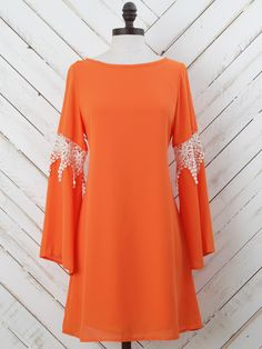 Altar'd State Game Day Lace Inset Dress #govols
