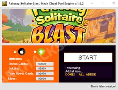 Fairway Solitaire Blast Hack is a program that offers you the opportunity play at the greatest level. Using our hack into, players can generate unrestricted Bonus Cards, Jokers, Period Power Cards & Activities. We assure you that Fairway Solitaire Blast Hack into Tool is among the better tricks you could find on the web because will keep you safe on regularly and protected.