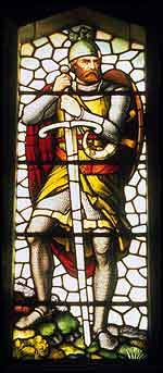 "William Wallace:  Greatest of my Hero's.      ""This is the truth I tell you:  of all things freedom's most fine.  Never submit to live, my son,  in the bonds of slavery entwined."""