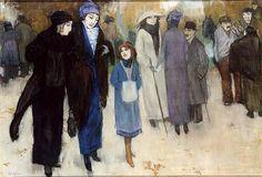 By Leo Gestel Dutch painter Lawrence Lee, School Painting, Piet Mondrian, Painter Artist, Dutch Painters, Post Impressionism, Art Station, Dutch Artists, French Art