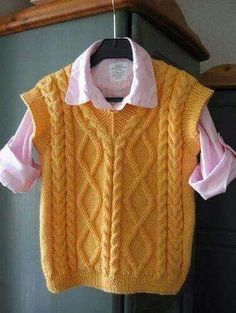 Adorable Crochet Sweater Vest