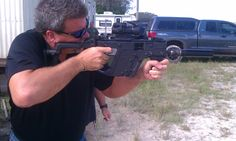 Dennis shoots the Super V Vector #submachinegun from Hollywood Tactical Arms http://www.youtube.com/playlist?list=PLCil1FS-kqwL_V909bi_by4x9bZJEf3u7