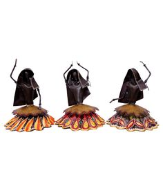Enhance the look of your home with this set of 3 Beautiful Ghagra Doll showpiece perfect for home décor or gifting. This Beautiful Set of Gagra doll dancers is beautifully handcrafted by the all craftsmen Rajasthan