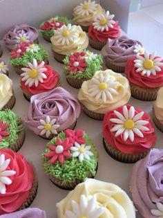 Daisy Cupcakes xx