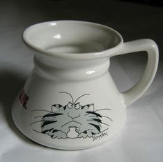 Sandra Boynton Angry Cat Keep Your Paws Off Travel Mug. Unfortunately, this mug is SOLD.