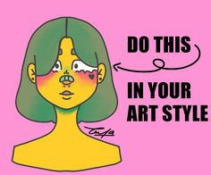 Art Style Challenge, Cute Art, Your Style, Oc, Have Fun, Drawings, Sketches, Drawing, Portrait