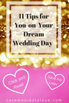 Your wedding day is finally here. The planning is done. Read these tips that brides shared with us and told us they wished they knew on their wedding day. It is all about bridal beauty. Free Wedding, Diy Wedding, Wedding Ideas, Wedding Blog, Wedding Reception, Wedding Decorations, Wedding Simple, Reception Ideas, Wedding Hair