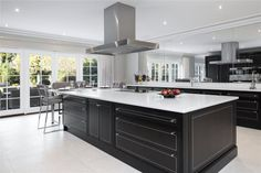 Find properties to buy in Gerrards Cross with the UK's largest data-driven property portal. View our wide selection of houses and flats for sale in Gerrards Cross. Kitchen Interior, Modern Interior, Kitchen Design, Clive Christian Kitchens, End Terrace House, Mansion Interior, Kitchen Cabinetry, Elegant Homes, Traditional Kitchen