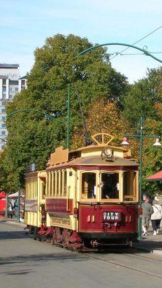 Christchurch Tram ~ Otago, South Island, New Zealand