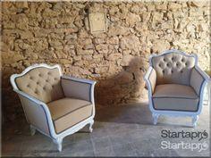 Neobarokk ülőgarnitúra eladó!, Kanapé, fotel - Startapro.hu Decor, Furniture, Accent Chairs, Vintage House, Rustic Furniture, Chair, Home Decor, Vintage Designs, Armchair