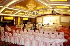 10PCS L275cm*W12cm  Chair Cover Bow Sash Wider Fuller Bows Wedding Party 91706