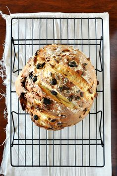 7 Ingredient Muesli Bread - crusty on the outside, soft and warm on the inside with plenty of sweet, muesli crunch.