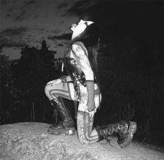 Possessed Demoness, sole member of black metal band Anguish