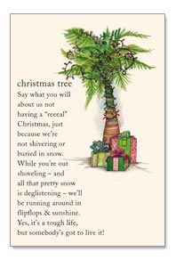 Christmas palm tree card from www.cardthartic.com