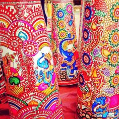 #DilliHaat never fails with its colorful masterpieces. #obsessed (at Dilli Haat)
