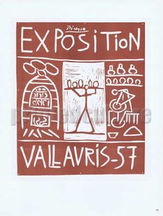 Vallauris Exhibition, 1957