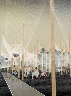 '5.5 Kg PAVILION', proyecto finalista en concurso YAP_Constructo 2016 / Contrucci + Sfeir,Cortesía de Carlos Sfeir + Pedro Pablo Contrucci