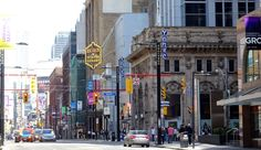 Ontario Place, Road Closure, Eaton Centre, Toronto Travel, Work Site, Downtown Toronto, Pedestrian, Abandoned, Times Square