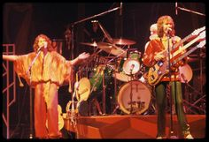yes band | Yes performing at the New Haven Coliseum on 9 August 1977. L-R: Jon ...