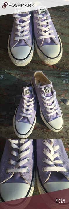 Converse Lilac Canvas Sneakers Women's Size 6/Men's Size 4. Preowned but in very clean condition see all photos listed. Converse Shoes Sneakers