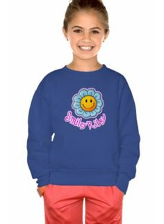 Enjoy the chilly weather in this Smiley Riley Sunflower Raglan – made from 100% California Fleece cotton construction sweatshirt with raglan sleeves. Perfect for any occasion. Made in the USA.