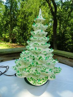 Ceramic Christmas Trees On Pinterest Ceramics Christmas