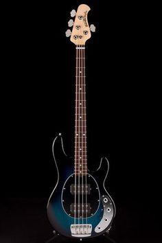 Guitar Center: Platinum : Music Man StingRay HH 4-String Pacific Blue Burst