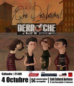 Que desilusión! + Derroche en Sala Berlín, Ourense music musica concerto concierto