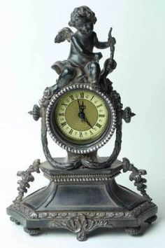 somewhere-in-time mantel clock