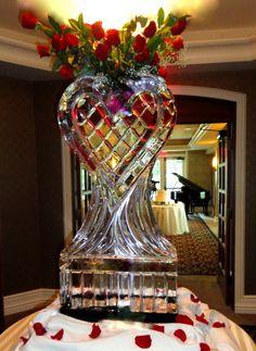 ice sculpture, michigan ice sculptures, decorative ice sculptures