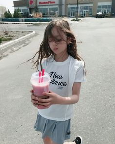 Image may contain: 1 person, drink, child and outdoor Little Girl Photos, Cute Baby Girl Pictures, Little Girl Models, Cute Little Girls, Child Models, Cute Kids, Cute Asian Babies, Korean Babies, Cute Korean Girl