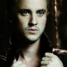Tom Felton OH MY GOODNESS HIS EYES!