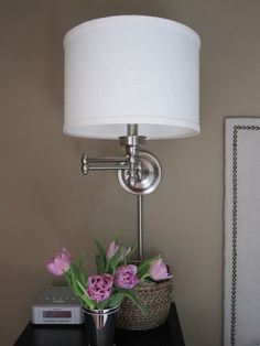 Swing Arm lamps from Lowe's