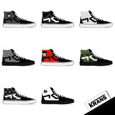 Serial Krans by Krane Crane, Skull Fashion, Memory Games, Montpellier, Photomontage, Skate Shoes, Minimal, Converse, Sugar