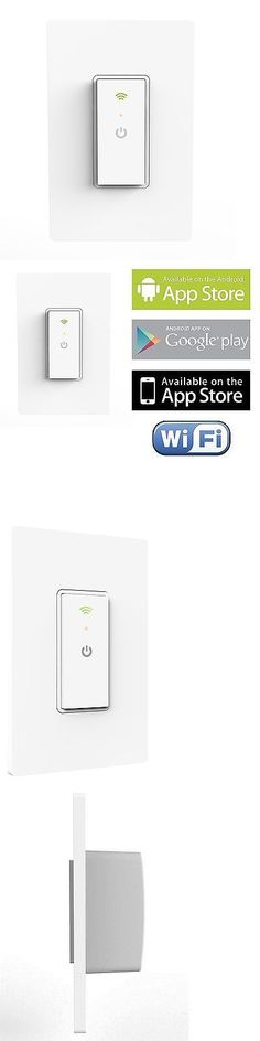 Home Automation Modules: New Ankuoo Wi Fi Smart Home Automation Light Switch Android Wifi Control BUY IT NOW ONLY: $34.2